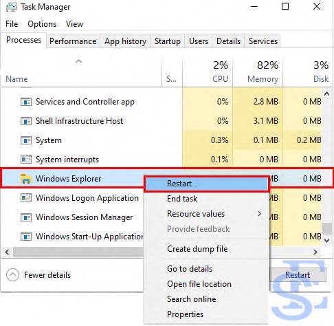 Restart Windows without Restarting your PC