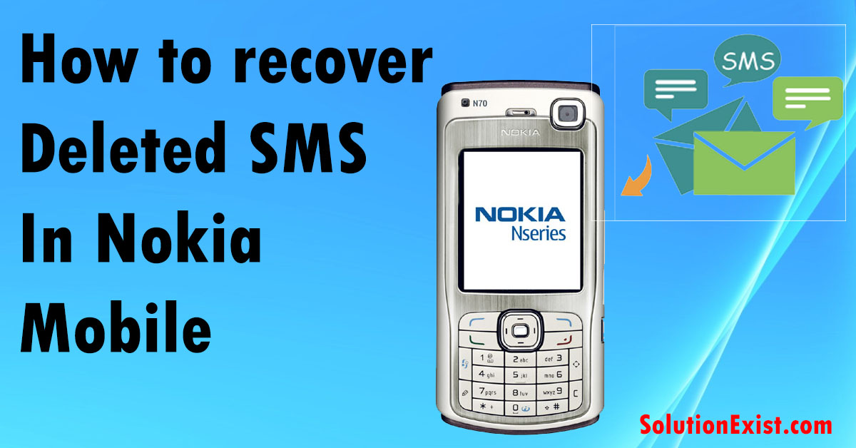 recover Deleted SMS in Nokia Symbian Mobile