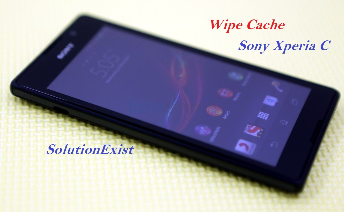 wipe cache in sony Xperia C