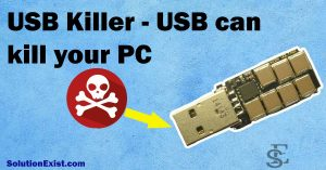 USB killer that can kill your PC