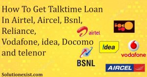 get talktime loan