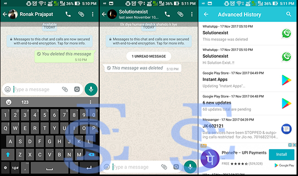 recover deleted whatsapp message,delete for everyone whatsapp,read deleted whatsapp message on whatsapp,whatsapp tricks,dual whatsapp