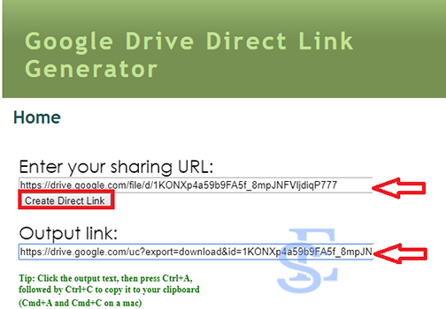 Create direct download link from google drive, google drive direct link generator. direct download link. google drive link