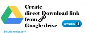 Create direct download link from google drive