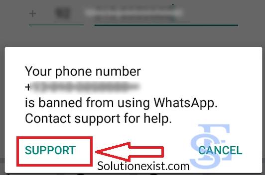 will whatsapp unban my account