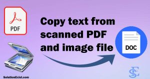 Convert Scanned PDF To Text Online For Free