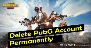 Delete PUBG Mobile Account Permanently