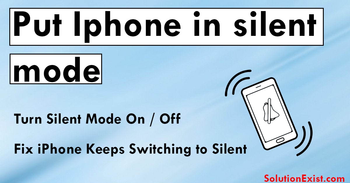 iPhone on silent mode